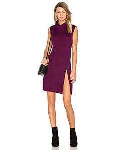 BCBGMAXAZRIA | Side Slit Sweater Dress