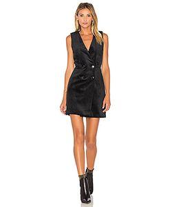 Greylin | Thompson Velvet Tuxedo Dress