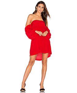 MLM LABEL | Платье С Открытыми Плечами Pillar