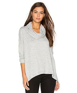 Heather | Basket Jacquard Cowl Neck Pullover