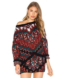 Mara Hoffman | Bolnisi Rug Knit Drop Shoulder Sweater