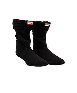 Hunter | 6 Stitch Cable Boot Sock