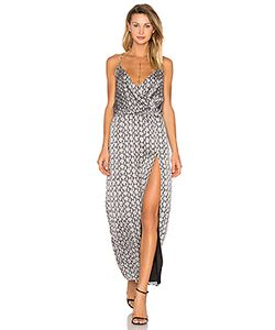 BLQ BASIQ | Snake Print Side Slit Dress