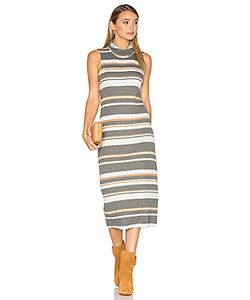Michael Stars | Sleeveless Cowl Neck Midi Dress