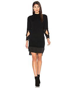 Halston Heritage | Mock Neck Sweater Dress