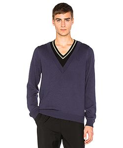 Raf Simons X Fred Perry | Double Layer V Neck Sweater Fred Perry X Raf Simons