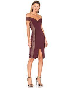 Nicholas   Bandage Cold Shoulder Dress