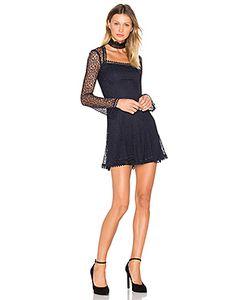 Nicholas | Платье С Квадратной Горловиной Web Lace