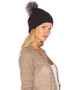 JOCELYN | Fox Pom Knit Hat