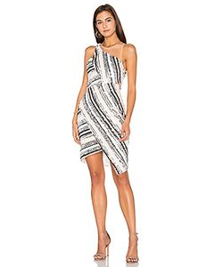 Lumier | Beautiful Parade Illusion Neck Dress