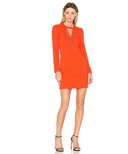 IKKS Paris | Long Sleeve Keyhole Dress
