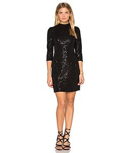 Hoss Intropia | Long Sleeve Embellished Mini Dress