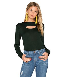 Hoss Intropia | Long Sleeve Front Cut Out Sweater