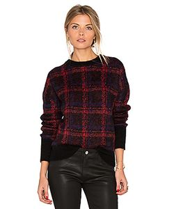 Current/Elliott | The Plaid Crew Neck Sweater