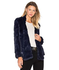 Arielle | Lapel Rabbit Fur Jacket