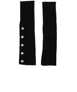 Autumn Cashmere | Buttoned Rib Arm Warmers