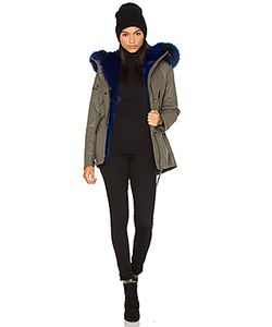 SAM. | Luxe Mini Limelight 4-In-1 Parka With Fur