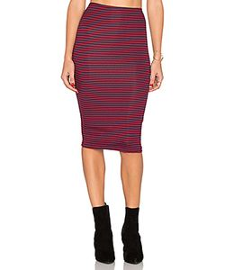 Lisakai   Striped Pencil Skirt