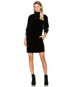 ATM Anthony Thomas Melillo | Mock Neck Drappy Velvet Dress
