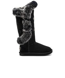 Australia Luxe Collective | Nordic Angel X Tall Rabbit Fur And Shearling Boot Australia
