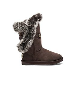 Australia Luxe Collective | Nordic Angel Short Rabbit Fur And Shearling Boot Australia Luxe