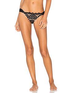 Pilyq | Lace Fanned Teeny Bikini Bottom