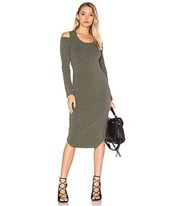 Monrow | Shoulder Cut Out Dress