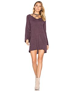 Chaser | Bell Sleeve Strappy Mini Dress