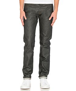 Naked & Famous Denim | Super Skinny Guy 14oz Wax Coated Selvedge Naked Famous