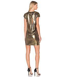 Halston Heritage | Foil Jersey Dress