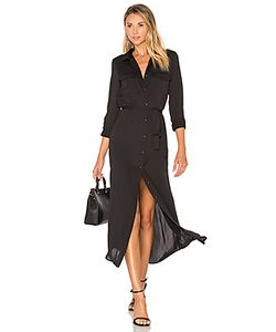 L'Academie | Платье-Рубашка С Длинным Рукавом