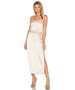 Halston Heritage | Атласное Платье На Бретельках