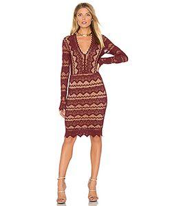 Nightcap | Кружевное Платье С V-Образным Вырезом Sierra