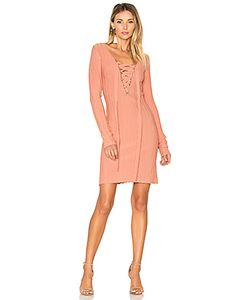 For Love & Lemons | X Knitz Simone Lace Front Sweater Dress For Love