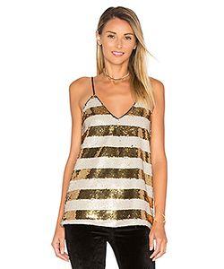 Blaque Label | Striped Sequin Cami