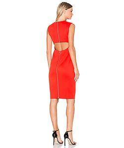 Mcq Alexander Mcqueen | Cut Out Back Midi Dress