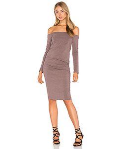 Monrow | Платье С Длинным Рукавом И Открытыми Плечами