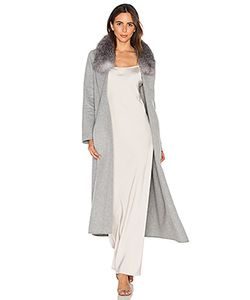 Soia & Kyo | Daphne Coat With Fox Fur Trim