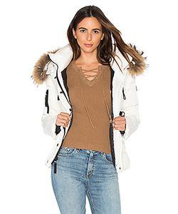SAM. | Куртка С Мехом Из Азиатского Енота Matte Decade
