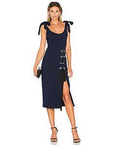Rebecca Vallance | Breakers Laced Split Dress