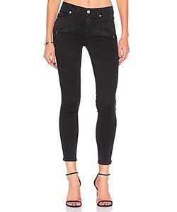 Hudson Jeans | Укороченные Супер Узкие Джинсы Средней Посадки Roe