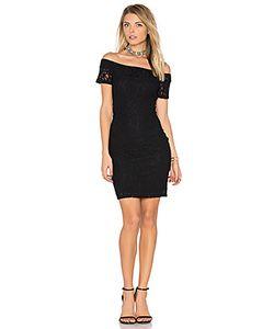 1. STATE | Off Shoulder Lace Dress
