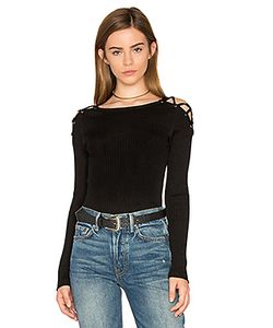 1. STATE | Criss Cross Shoulder Sweater
