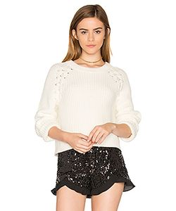 1. STATE | Lace Up Shoulder Sweater