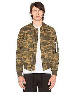 STAMPD | Camo Washed Bomber