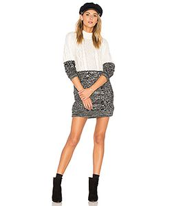 Minkpink | Two Faced Mixed Knit Dress