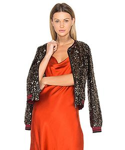 Sanctuary | Sequins Bomber Jacket