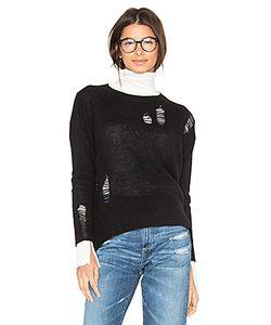 Enza Costa | Cashmere Distressed Sweater