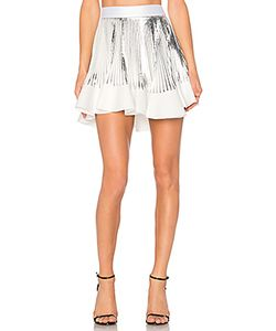 By Johnny | Pleat Flute Mini Skirt