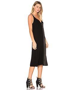 LACAUSA | Атласное Макси Платье Dual